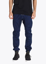 Zanerobe Men's Designer Sureshot Denim Blue Black Jogger Jeans Pants Bottoms 29