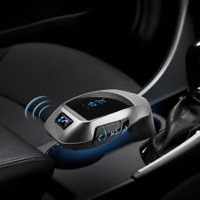 X5 Bluetooth Car Kit MP3 Inalámbrico Transmisor FM USB SD LCD Manos Libres Cargador