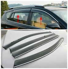 For Toyota RAV4 2013 2014+ Window Visor Wind Deflector Smoke Rain Sun Guard Vent