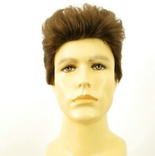 Perruque homme 100% cheveux naturel châtain clair ref ALBERT 8