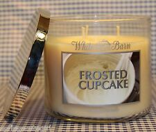 Bath & Body Works White Barn FROSTED CUPCAKE 3-Wick 14.5 oz Scented Candle