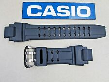 Genuine Casio G-Shock GA-1000 GA-1000-2 navy blue resin rubber watch band GW4000