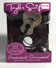 Taylor Swift Long Live Musical Christmas Ornament in Original Box