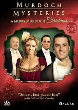 MURDOCH MYSTERIES : A MERRY MURDOCH CHRISTMAS  - DVD - Region 1 Sealed