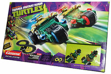 Turtles 2 course automobile système slot racing track leonardo & raphael