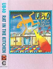 UB40 RAT IN THE KITCHEN CASSETTE ALBUM REGGAE-POP Synth-pop CADEP11 1986