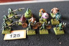 Games Workshop WARHAMMER Night Goblins SQUIG Herder squadre in metallo dipinto figure