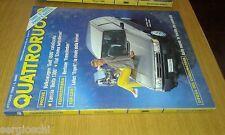 QUATTRORUOTE # 408 - OTTOBRE 1989 - VOLKSWAGEN GOLF 1600-LANCIA DELTA - OTTIMO