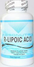 Absonutrix R-Lipoic Acid 300mg Maximum Strength Lipoic 60 Caps Stabilized Trial!