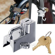 Chrome Motor Universal Helmet Lock Fit Honda Shadow Aero Phantom VLX 750 1100