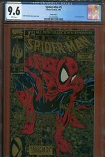 1990 SPIDERMAN GOLD #1 CGC 9.6 WHITE PAGES BRAND NEW CASE LOOK