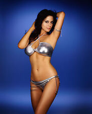CATHERINE BELL 8x10 PHOTO PICTURE PIC HOT SEXY HUGE BOOBS IN TINY BIKINI 53