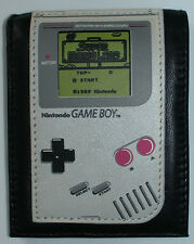 Official Nintendo Leather GAME BOY WALLET Mens Pocket Bifold Cool Unique Funny