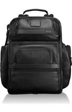 "NWT Tumi Alpha 2 T-Pass Leather Business Backpack Brief 15"" Laptop 96578D2 $675"