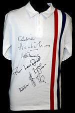 *New* Escape to victory Replica Football Shirt Signed By 8