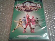 Power Rangers Mystic Force The Complete Series (DVD, 2014, 4-Disc Set) Brand New