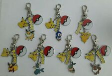 Pokemon keyrings Choice of 12 or create your own!!!