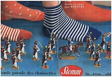 PUBLICITE ADVERTISING 114 1957 STEM 1500 dessins et coloris pour enfants (2 pgs)