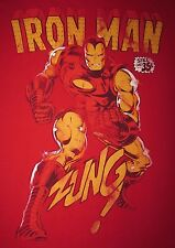IRONMAN - STILL ONLY 35 CENTS! - Men's size M - Graphic T-Shirt