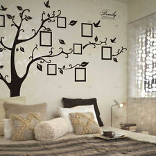 Black Tree Removable Decal Room Wall Sticker Vinyl Art Hot DIY Decor Home Family