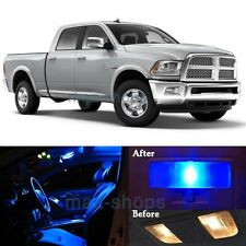 12Pcs Blue Interior LED SMD Lights Lamp Package Kit for 2009-2015 RAM 1500 MP