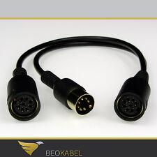 AUX 7-Pol Y Kabel Splitter / Adapter, Verteiler, T-Stück für B&O BANG & OLUFSEN