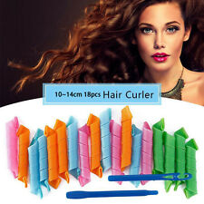 18PCS HOT Hair Rollers Snail Rolls Styling Curler Tools Magic Hair-Tools