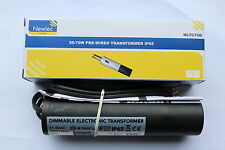 4 x Newlec NLTC70D IP65 Electronic Dimmable downlight Transformer 20-70VASELV