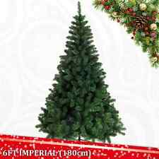 6 FT 180CM IMPERIAL PINE ARTIFICIAL CHRISTMAS XMAS TREE REAL NEEDLE DECORATIONS