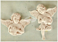 handmade Silicone Mold /Cake Decoration Mould/ angel mold c 786