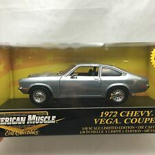 1972 Chevrolet Chevy Vega Coupe 1/18 CHROME American Muscle ERTL LIMITED EDITION