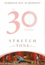 30 MINUTE STRETCH AND TONE FITNESS WORKOUT DVD Streching Toning Exercises New