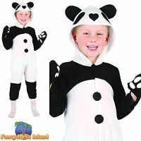 KIDS CUTE ANIMAL PANDA BEAR JUMPSUIT - Age 2-3 - boys childs fancy dress costume