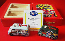 CORGI MARVEL X-MEN Superheroes 98970 Twin Set MORRIS J BEDFORD CA VAN Ltd Ed 92