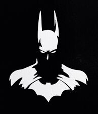 "2 Batman Dark Knight Silhouette DC Comics 5"" Car Window Vinyl Sticker Decal Logo"