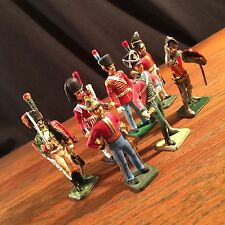 Vintage Toy Soldier Lot (7) Britains Ceremonial Guard Piper Knight PRIORITY MAIL