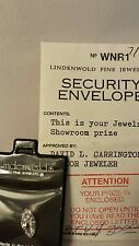 VINTAGE ESTATE LINDENWOLD'S FINE JEWELERS ? CT SIMULATED LOOSE DIAMOND/IN POUCH