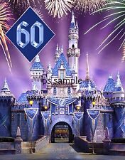 Calif - DISNEYLAND 60 - Diamond Celebration #2 - Travel Souvenir Fridge Magnet