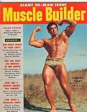 MUSCLE BUILDER bodybuilding fitness magazine/ARMAND TANNY 7-54