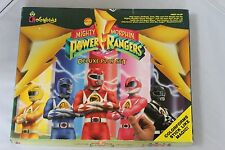 Vintage COLORFORMS POWER RANGERS Deluxe PLAY SET # 2407  Dated 1993