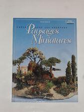 Livre loisirs créatifs (créer avec les végétaux des paysages miniatures) 64pages