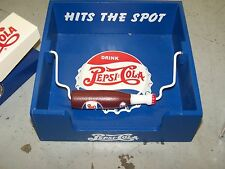 PEPSI-COLA WOOD PICNIC STYLE NAPKIN HOLDER