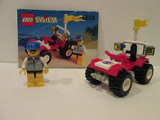 Lego 6518 Classic Town System BAJA BUGGY 100% Complete w/ Manual 1996
