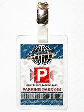 Superman Daily Planet Parking ID Badge Smallville Cosplay Prop Costume Comic Con