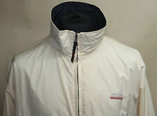 MUSTO PERFORMANCE great JACKET logo EXPENSIVE sz L snugs LARGE perfect