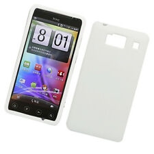 For Motorola Droid RAZR HD XT926 Rubberized HARD Case Snap On Phone Cover White