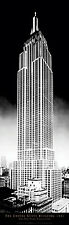 New York City Empire State Building (NYC) Decorative art Poster Print 36x12""