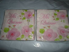 2 PACKS MIS QUINCE de 15 años servilletas 15TH BIRTHDAY NAPKINS 16 PACK 32 TOTAL