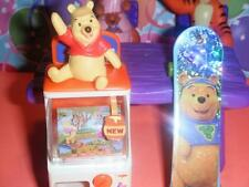 Winnie the Pooh Toy Machine Skateboard fits Fisher Price Loving Family Dollhouse