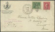 #E7 ON COVER FROM BALTIMORE, MD TO EVERETT, MA CV $400 BS1347
